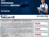Best Plumbing Contractors Dallas TX
