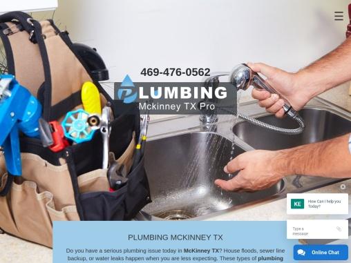 plumbing repair services mckinney TX