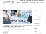 The Importance of Accurate Payroll Reporting & How It Affects Workers' Comp Premium Costs
