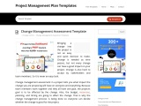 Change Management Assessment Template