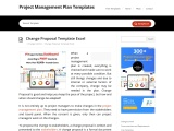 Change Proposal Template Excel