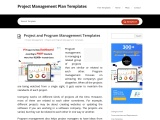 Project And Program Management Examples