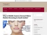 Middle Eastern Dermal Fillers Market Predicted to Exhibit 11.9% CAGR during 2018—2023