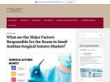 Huge Surge Expected in Saudi Arabian Surgical Sutures Market