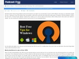 Best practices to use a free VPN