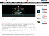Mobile Premier League (MPL) – Bonus Codes; Review – PokerGuru