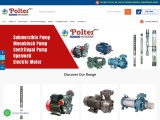 Polter Pumps – Submersible Pumps | Monoblock, Centrifugal Pumps in India