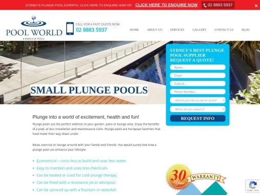 Plunge Pool Sydney – Pool World