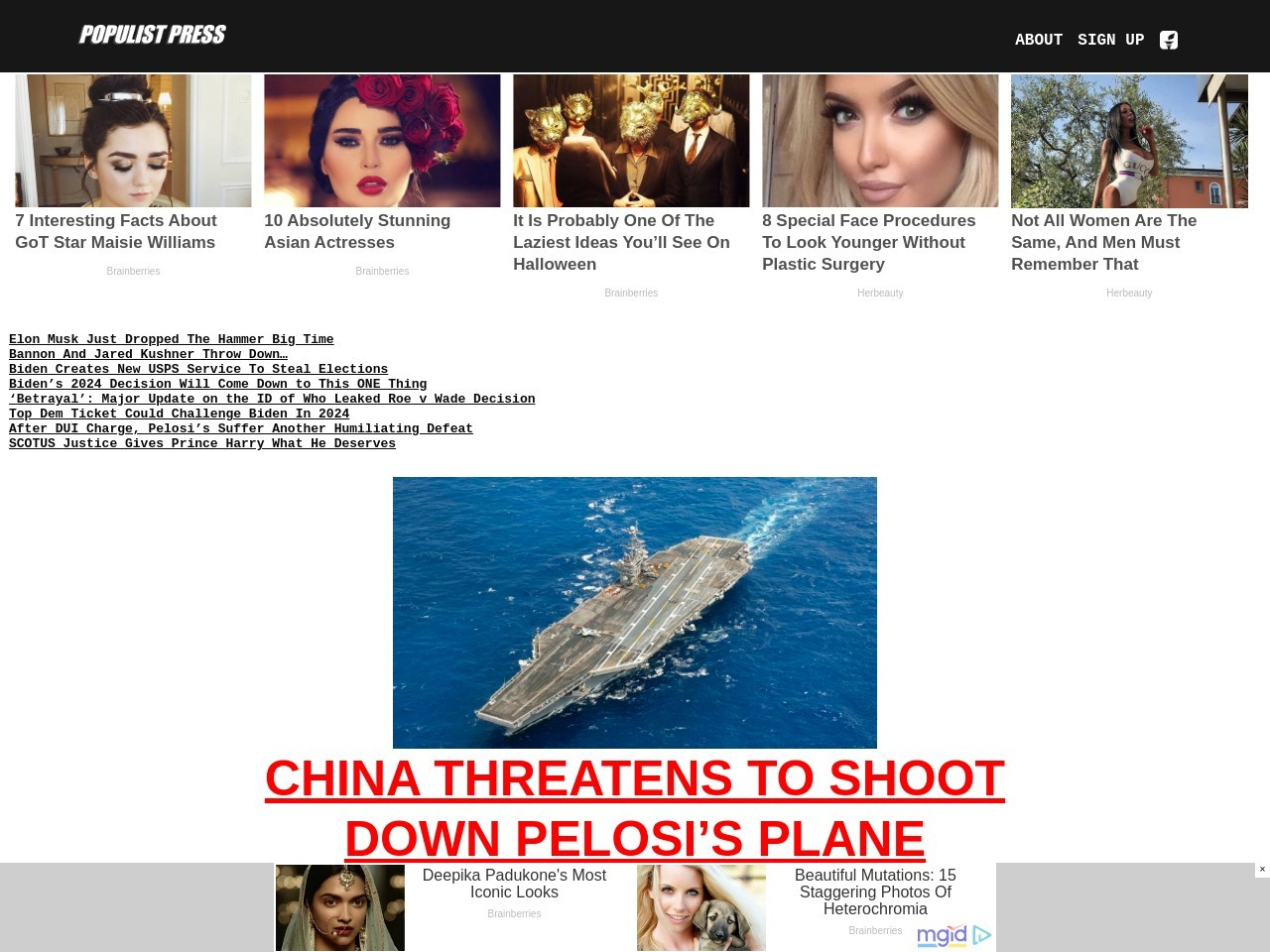 American Fighter Aircraft Support Coalition Strikes on ISIS in Iraq