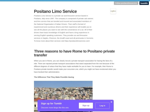 Three Reasons To Have Rome To Positano Private Transfer