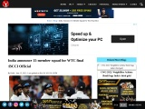 India announce 15-member squad for WTC final :BCCI Official