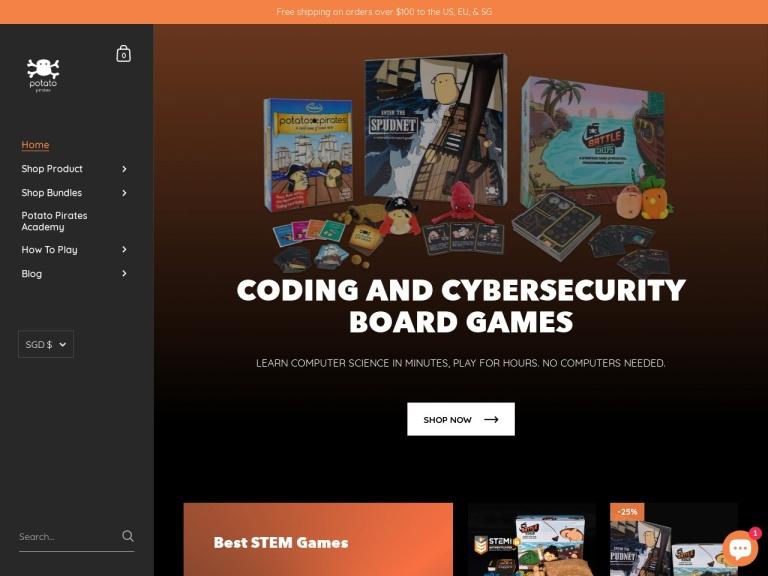 Potato Pirates screenshot
