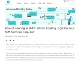 The Role of Routing in SMPP and the best routing your Sms service requires.