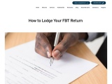 How to Lodge Your FBT Return | Practical Accountants