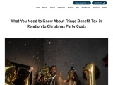 Fringe Benefit Tax and Christmas Party | Practical Accountants