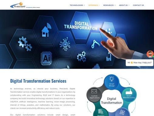 Custom Software Development Company | Pre-scient.com