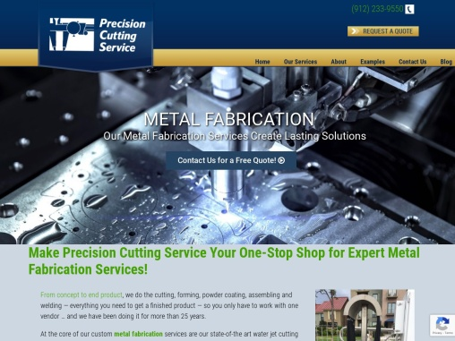Choose our Precision Cutting Service for your Metal Fabrication Projects