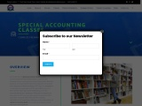 Special Accounting Classes – Premier institute
