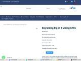 Buy Mining Rig of 8 Mining GPUs now
