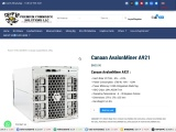 purchase Canaan AvalonMiner A921 for sale