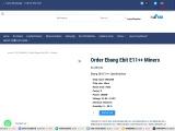 Order Ebang Ebit E11++ Miners for sale