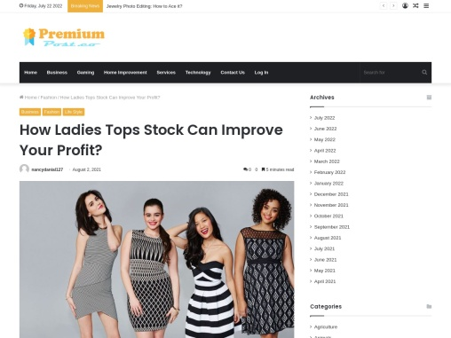 Cheap Womens Tops – Useful Tips To Gain More Profit In Women Tops!