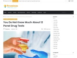 You Do Not Know Much About 12 Panel Drug Tests