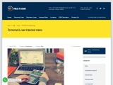 Personal Loan Interest Of rates