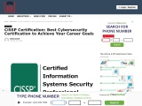 CISSP Certification: Best Cybersecurity Certification to Achieve Your Career Goals
