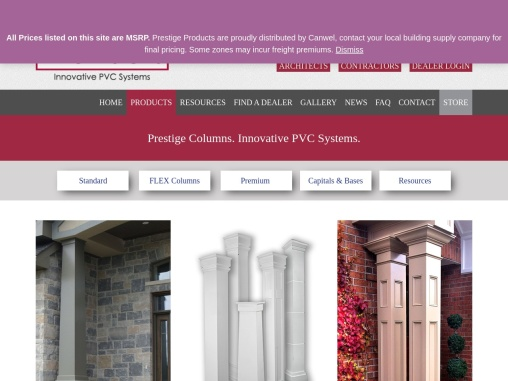 Build Home Beauty With PVC Columns | PrestigeDiy Canada
