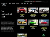 Lamborghini Car Rental Dubai | Prestige Exotic Car Rental