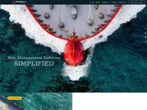 Vessel management software Vessel management software