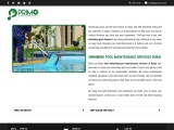 Swimming Pool Maintenance Services Dubai | Swimming Pool Cleanings Company in Dubai
