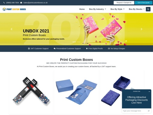 Custom Boxes – Custom Boxes With Logo – Custom Packaging Boxes
