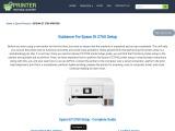 Guidance For Epson ET 2760 Printer Setup | Scan To Computer