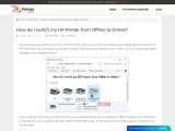 How do I switch my HP Printer from Offline to Online? | Printerassists
