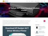 Download HP Deskjet 2677 Driver – HP Deskjet 2677 Printer Driver Support