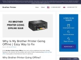 Brother Printer Going Offline   What Are the Steps To Fix