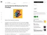 Order online Business Flyers at PrintMagic