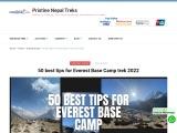 Best tips for Everest Base Camp Trek