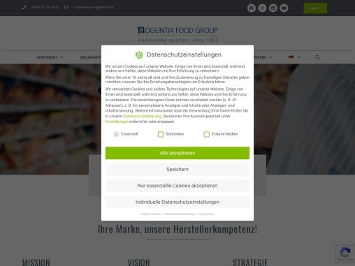 Die Moguntia Food Group ist ein erfahrener Private-Label-Entwicklungspartner