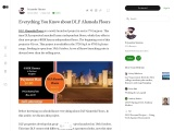 Everything You Know about DLF Alameda Floors
