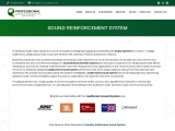 Auditorium Sound System-Sound Reinforcement-Design …