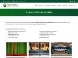 Auditorium Stage Curtain-Motorised Stage Curtain-Stage …