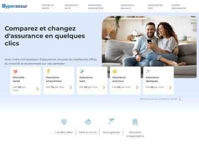 Hyperassur Pro : Comparateur d'Assurances en ligne - Devis Gratuits