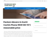Packers and Movers in Kochi Kerala