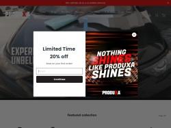 Produxa The Best High Performance Car Care Products screenshot