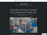 Hydroflow Filtration System for Contaminant Clean-Up