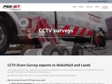 CCTV drain survey Leeds, Wakefield   PRO-JET Draincare Limited