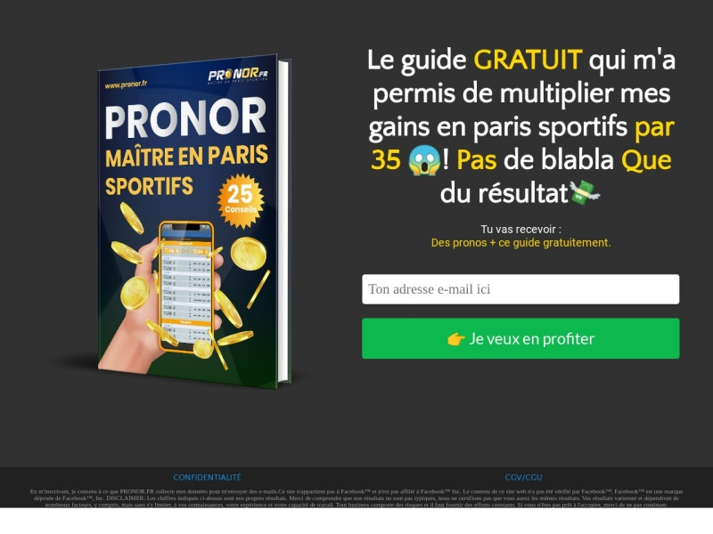 pack vip pronor 6mois